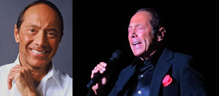 Paul Anka at Fallsview Casino Entertainment Centre