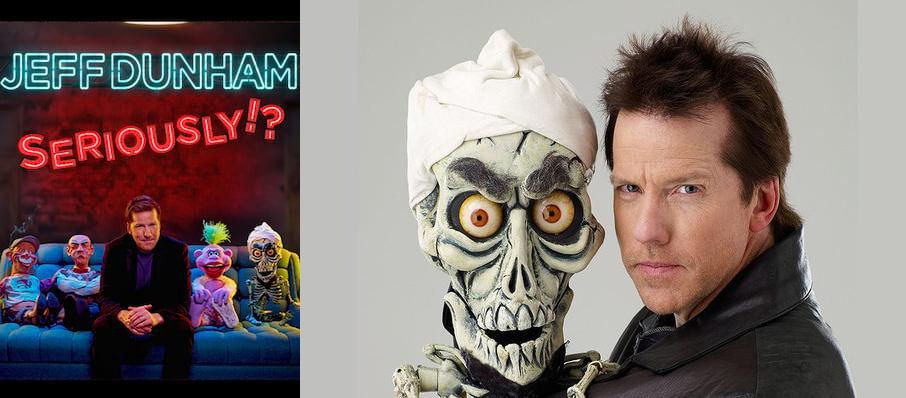 Jeff Dunham at Meridian Centre
