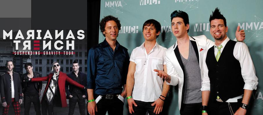 Marianas Trench at Rapids Theatre