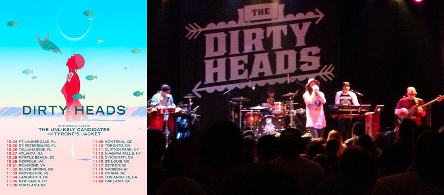 Dirty Heads at Rapids Theatre