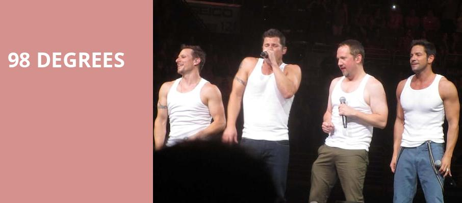 98 Degrees, Seneca Niagara Events Center, Niagara Falls